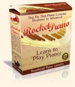 Rocket Piano Box