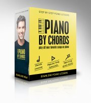 The Piano By Chords Piano Learning Kit