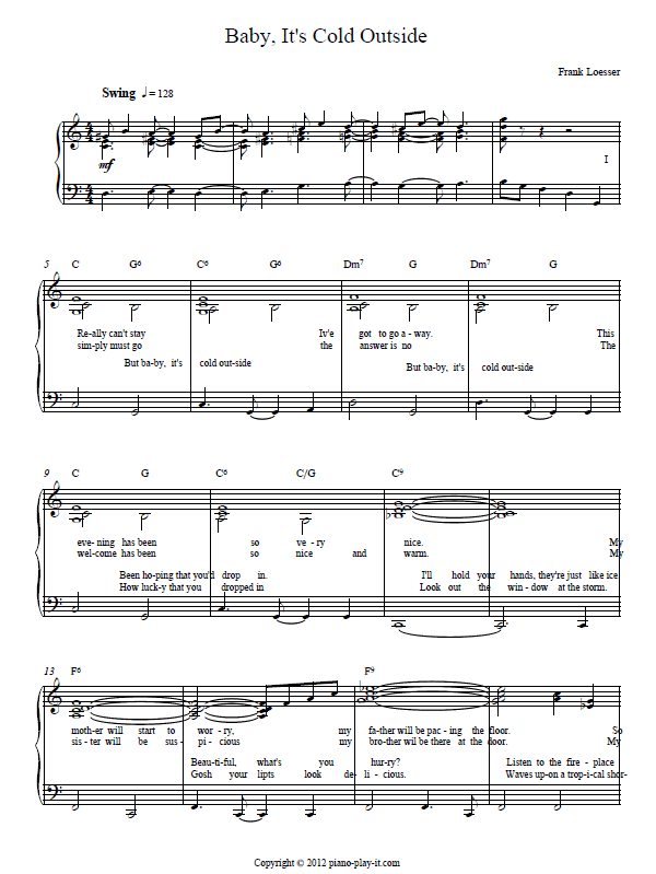 coffee cold sheet music pdf