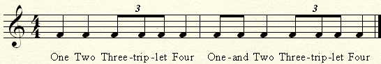 triplet exercises no. 1