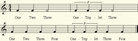 triplet exercises no. 2