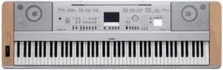 The Yamaha DGX Keyboard