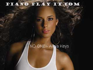 alicia keys as i am in... Alicia Keys No One