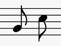 Eighth Note singly