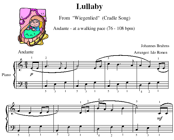Lullaby - Play Andante