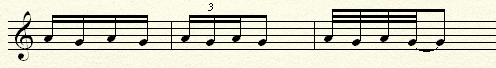 Four Note Trills