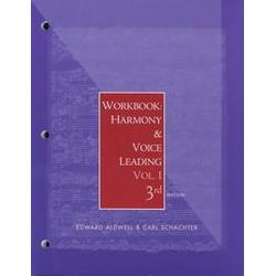 New Harmony and Voice Leading Book.