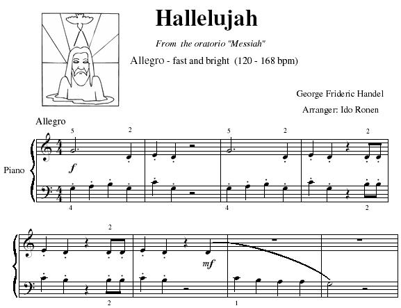 Halleluja Chorus - Play Allegro